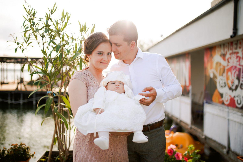 Andreea Elisa christening