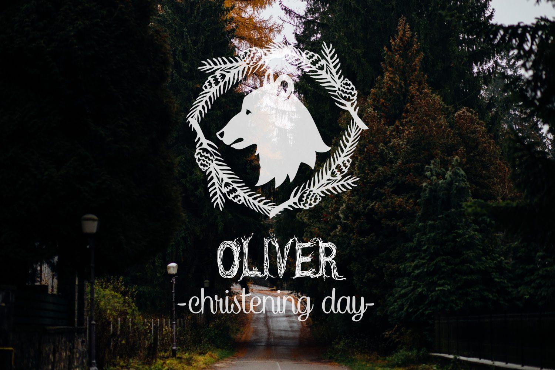 Oliver christening